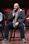 """Greg Treco, during a Q & A before The Rockefeller Foundation and The Gilder Lehrman Institute of American History sponsored High School student #EduHam matinee performance of """"Hamilton"""" at the Richard Rodgers Theatre on 3/20/2019 in New York City."""