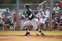 Michigan State Spartans left fielder Dan Durkin (9) at bat during a game against the Illinois State Redbirds on March 8, 2016 at North Charlotte Regional Park in Port Charlotte, Florida.  Michigan State defeated Illinois State 15-0.  (Mike Janes/Four Seam Images)
