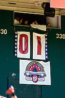23 September 2007: Washington Nationals countdown shows one game remaining prior to the start of the historic last professional baseball game played at Robert F. Kennedy Memorial Stadium in Washington, DC. The Nationals defeated the visiting Philadelphia Phillies 5-3 to close out the home season at RFK.. .Mandatory Photo Credit: Ed Wolfstein Photo