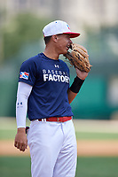 Jose Hernandez (4) during the Dominican Prospect League Elite Underclass International Series, powered by Baseball Factory, on August 31, 2017 at Silver Cross Field in Joliet, Illinois.  (Mike Janes/Four Seam Images)
