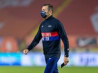 BREDA, NETHERLANDS - NOVEMBER 27: Vlatko Andonovski of the USWNT walks on the field during a game between Netherlands and USWNT at Rat Verlegh Stadion on November 27, 2020 in Breda, Netherlands.