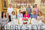 30th Birthday: Helen Kelly, Carrigkerry & Dublin , third from right front, celebrating her 30th birthday with family at the Listowel Arms Hotel on Friday afternoon last.