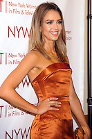 NEW YORK CITY, NY, USA - JUNE 18: Actress Jessica Alba arrives at the 2014 New York Women In Film And Television Awards Gala held at the McGraw Hill Building on June 18, 2014 in New York City, New York, United States. (Photo by Celebrity Monitor)
