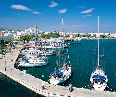 Greece, Dodecanese, Kos Island, Kos-Town: Harbour View   Griechenland, Dodekanes, Insel Kos, Kos-Stadt: Hafen