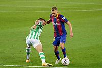 7th November 2020; Camp Nou, Barcelona, Catalonia, Spain; La Liga Football, Barcelona versus Real Betis;  Jordi Alba