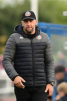 Worthing manager Adam Hinshelwood during Enfield Town vs Worthing, Pitching In Isthmian League Premier Division Football at the Queen Elizabeth II Stadium on 16th October 2021