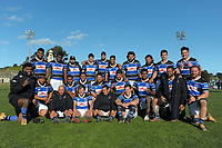 The Whanganui team pose for a group photo after the 2021 Heartland Championship rugby match between Whanganui and Poverty Bay at Cooks Gardens in Whanganui, New Zealand on Saturday, 18 September 2021. Photo: Dave Lintott / lintottphoto.co.nz