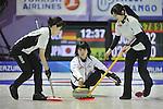 Sayaka Yoshimura (JPN), ..JANUARY 28, 2011 - Curling : ..The 25th Winter Universiade Erzurym 2011 between Japan Women's and Germany Women's at Curling Hall, Erzurum, Turkey. (Photo by AFLO)
