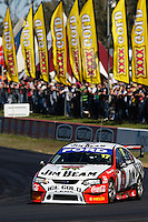 V8 Supercars during qualifying for The City of Ipswich 400, Queensland Raceway
