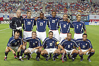 USA starting eleven. The USA lost 3-1 against Poland in the FIFA World Cup 2002 in Korea on June 14, 2002.