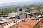 Viana.Navarra.Espana.Viana.Navarra.Spain.Fabrica de Kraft..Kraft factory..(ALTERPHOTOS/Alfaqui/Acero)