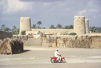 Al Ain, UAE, March 1972. Al Ain Fort.