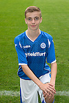 St Johnstone FC Academy Under 15's<br /> Ben Fraser<br /> Picture by Graeme Hart.<br /> Copyright Perthshire Picture Agency<br /> Tel: 01738 623350  Mobile: 07990 594431