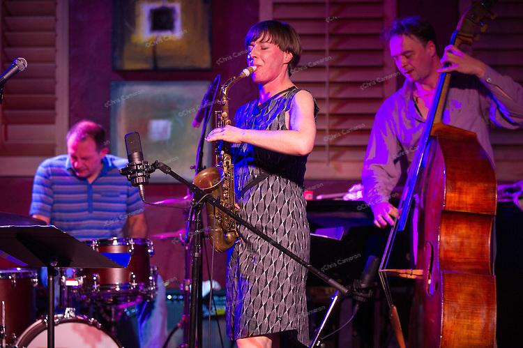 Silke Eberhard Trio play IronWorks, June 28, 2013 in the TD Vancouver International Jazz Festival