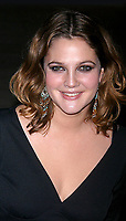 DREW BARRYMORE<br /> CONFESSIONS OF A DANGEROUS MIND PREMIERE AT THE PARIS THEATRE, NEW YORK CITY. 12/19/2002.<br /> Photo By John Barrett/PHOTOlink