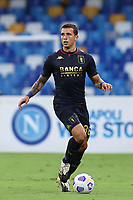 Luca Pellegrini of Genoa CFC<br /> during the Serie A football match between SSC Napoli and Genoa CFC at stadio San Paolo in Napoli (Italy), September 27, 2020. <br /> Photo Cesare Purini / Insidefoto