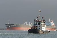 - merchant ship in the Livorno harbour....- nave mercantile nel porto di Livorno