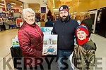 Nora, Finbar and Josh Woulfe from Abbeyfeale at the Christmas Food & Craft Fair in Manor West on Saturday.