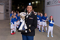 Nashville, TN - March 2, 2019:  The USWNT tied England 2-2 during the SheBelieves Cup at Nissan Stadium.