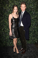 Hannah Bagshawe and Eddie Redmayne<br /> at the 2017 Charles Finch & CHANEL Pre-Bafta Party held at Anabels, London.<br /> <br /> <br /> ©Ash Knotek  D3227  11/02/2017