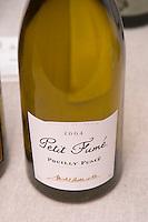 Pouilly Fume, Petit Fume 2004, Michel Redde et Fils, Pouilly sur Loire, France