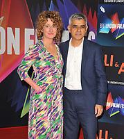 "OCT 13 ""Ali & Ava"" Mayor of London gala  at the 65th BFI London Film Festival"