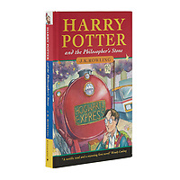 BNPS.co.uk (01202) 558833<br /> Pic: Bonhams/BNPS<br /> <br /> A rare first edition of Harry Potter and the Philosopher's Stone with a signature from J.K. Rowling inside it has sold for almost £100,000.<br /> <br /> Just 500 copies of the first print run were released on publication in 1997. <br /> <br /> Of those, 300 were sent to public libraries and 200 were given to friends and family if the then unknown author.