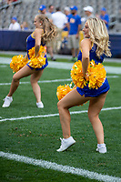 The Pitt dance team performs. The Pitt Panthers defeated the UCF Knights 35-34 in a football game played at Heinz Field, Pittsburgh, Pennsylvania on September 21, 2019.
