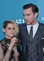 Kristen Stewart + Nicholas Hoult @ the premiere of 'Equals' held @ the Arclight theatre. July 7, 2016