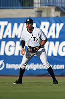 Tampa Yankees outfielder Aaron Judge (59) during a game against the Dunedin Blue Jays on June 28, 2014 at George M. Steinbrenner Field in Tampa, Florida.  Tampa defeated Dunedin 5-2.  (Mike Janes/Four Seam Images)