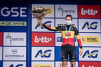 Lotte Kopecky (BEL/Lotto-Soudal) finishes 3rd.<br /> <br /> AG Driedaagse Brugge-De Panne 2020 (1.WWT)<br /> 1 day race from Brugge to De Panne (156km) <br /> <br /> ©kramon