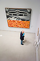 POP ART DESIGN exhibition opens at the Barbican Art Gallery and runs from 22nd October to 9th February 2014. Picture shows:  I LOVE YOU WITH MY FORD, by James Rosenquist, 1961. Photograph © Jane Hobson.