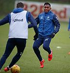 05.02.2019: Rangers training: Alfredo Morelos