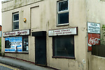 Minster, closed down shops. Isle of Sheppey Kent UK. 2014