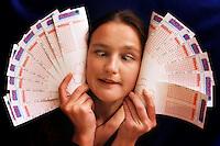 Superenalotto. Italian national lottery.....