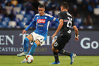 Jose Callejon of Napoli and Alex Ferrari of Sampdoria compete for the ball<br /> Napoli 14-9-2019 Stadio San Paolo <br /> Football Serie A 2019/2020 <br /> SSC Napoli - UC Sampdoria<br /> Photo Cesare Purini / Insidefoto