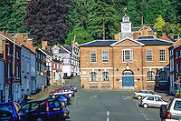 Wales, Montgomery Town Square, 1748.  Powys.