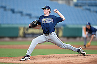 Michael Zimmerman (21) of Gulf Coast High School in Naples, Florida playing for the Tampa Bay Rays scout team during the East Coast Pro Showcase on July 31, 2014 at NBT Bank Stadium in Syracuse, New York.  (Mike Janes/Four Seam Images)