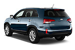 Rear three quarter view of a 2014 KIA Sorento EX2014 KIA Sorento EX