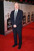 """wirter, Julian Barnes<br /> arriving for the premiere of """"The Sense of an Ending"""" at the Picturehouse Central, London.<br /> <br /> <br /> ©Ash Knotek  D3244  06/04/2017"""