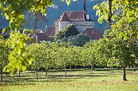 Europe/France/Midi-Pyrénées/12/Aveyron/Camboulan: le village et son Château du XIII