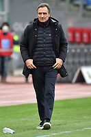 Cesare Prandelli coach of ACF Fiorentina looks on during the Serie A football match between SS Lazio and ACF Fiorentina at Olimpico stadium in Roma (Italy), January 6th, 2021. Photo Andrea Staccioli / Insidefoto
