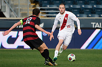 Chester, PA - Sunday December 10, 2017: Andrew Gutman. Stanford University defeated Indiana University 1-0 in double overtime during the NCAA 2017 Men's College Cup championship match at Talen Energy Stadium.