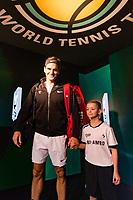 Rotterdam, The Netherlands, 18 Februari, 2018, ABNAMRO World Tennis Tournament, Ahoy, Singles final, Roger Federer (SUI), <br /> <br /> Photo: www.tennisimages.com