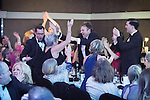 © Joel Goodman - 07973 332324 . 02/03/2017 . Manchester , UK . Law Firm of the Year – Small (1-5 partners) - Hall Brown Family Law . The Manchester Legal Awards at the Midland Hotel . Photo credit : Joel Goodman