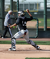 Darius Perry participates in the 2019 MLB Dream Series on January 18-21, 2019 at the Los Angeles Angels training complex in Tempe, Arizona (Bill Mitchell)