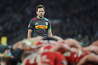 Ruaridh Jackson of Harlequins looks on during the Aviva Premiership Rugby match between Harlequins and Gloucester Rugby at Twickenham Stadium on Tuesday 27th December 2016 (Photo by Rob Munro/Stewart Communications)