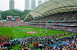 March Past on Day 2 of the Cathay Pacific / HSBC Hong Kong Sevens 2013 on 23 March 2013 at Hong Kong Stadium, Hong Kong. Photo by Manuel Queimadelos / The Power of Sport Images