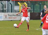 UEFA Women's Under 17 Championship - Second Qualifying round - group 1 : England - Switzerland : .Barla Deplazes.foto DAVID CATRY / Vrouwenteam.be