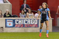 Chicago, IL - Sunday Sept. 04, 2016: Alyssa Mautz during a regular season National Women's Soccer League (NWSL) match between the Chicago Red Stars and Seattle Reign FC at Toyota Park.